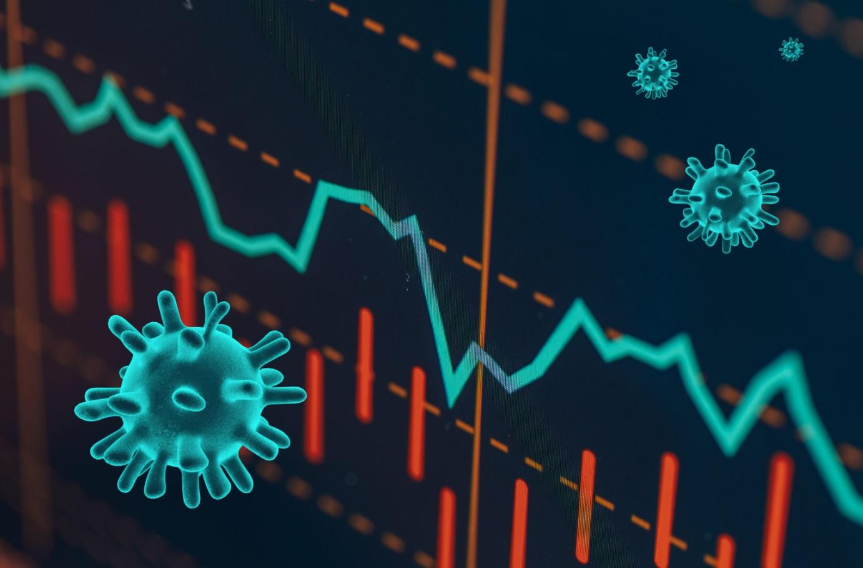 Virus sur les marchés financiers